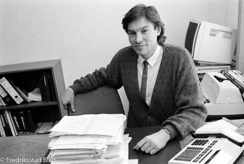 Jubilanten på slutten av 80-tallet, i den perioden ha jobbet som adm. dir. i Gjensidige Fredrikstad.