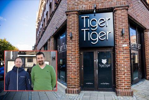 SØKER PERONALE: Conny Östling og Admir Sulejmanovic tar over «Tiger Tiger» og «Junior». Nå søker han etter personale til begge steder.