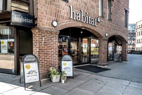 Møbelbutikken Habitat gikk konkurs tidligere i år, og nå fylles lokalet med kontorarbeidsplasser.