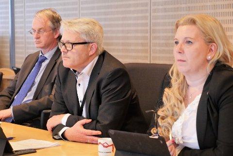 Uenig i hovedgrepene i arealplanen: Frps Bjørnar Laabak, i formannskapet torsdag,  sier nei til økt fortetting, nye makshøyder og krav til nærmiljøparker. (Foto: Øivind Lågbu)