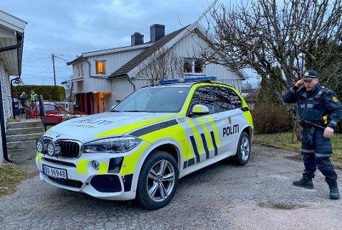 BLIR SITTENDE: Mossingen i 40-årene er siktet for å ha drept en Fredrikstad-mann på en adresse på Lisleby i mars i år. Nå blir han likevel ikke løslatt, etter at lagmannsretten har endret på tingrettens avgjørelse.