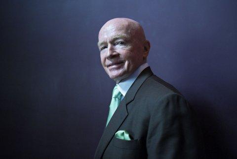 Mark Mobius er regnes som en av pionerene innenfor investering i fremvoksende markeder.