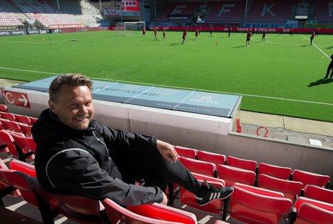 Bjørn «Bummen» Johansen er fornøyd med søndagens kamp mot Ull/Kisa.