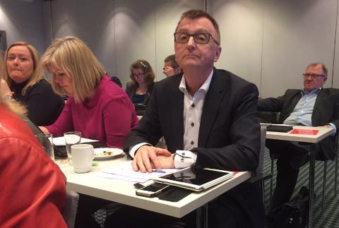 Roger Bergersen på årsmøtet til Nordland Arbeiderparti i Bodø.