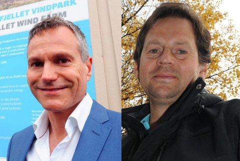 Kraftdirektører, begge med kontorsted Narvik f.v: Eirik Frantzen og Børge Edvardsen Klingan