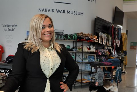 SVÆRT FORNØYD: Lise Janita Hansen gleder seg stort over at Flåm AS blir en reiselivsaktør i Narvik. Hun mener det vil få en stor betydning - for mange.