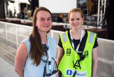 Marit Knutsdatter Strand og Trine Onsøyen.