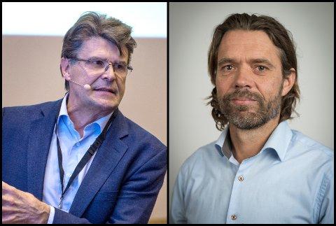 ALTERNATIVET SOM MANGLER: — Hvorfor er ikke det mest opplagte alternativet vurdert?, spør professor Olav Røise og styremedlem i Helse sør-øst, Christian Grimsgaard.