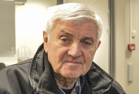 Dårlig hørsel: Svein Håkon Pedersen.