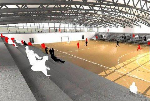 IKKE STORHALL?: I Rådmannens innstilling for idrettshall på Os, legges det opp til en hall for breddeidretten.