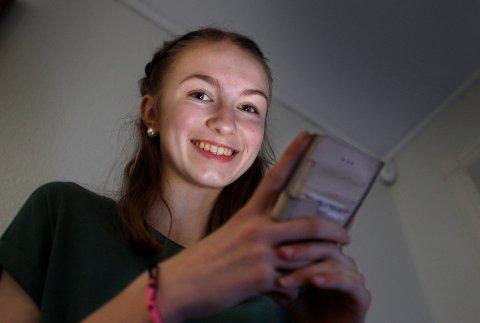 HAR FÅTT PRIS: Emilie Lein fra Haugesund har fått pris i den nye kategorien Norges favorittmuser i  Nickelodeon Kids' Choice Awards.