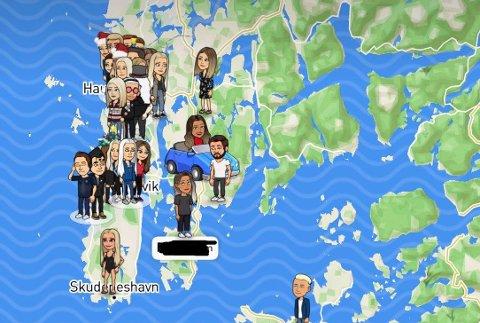 NY TREND: Ungdommer tar i bruk kartfunksjonen i Snapchat for å kunne dra uinvitert på hjemmefester.