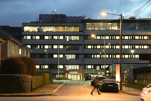 SMITTE: Virus-smittede på intensiven på Haugesund sjukehus.