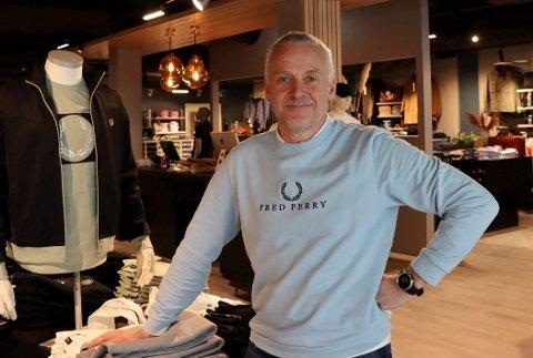 OPTMIMIST – OG REALIST: Ivar Jacobsen ser fram til å kunne åpne Icon igjen mandag. Men nå trengs det noen gode salgsmåneder framover for å ta igjen det som er tapt i ukene han har vært tvunget til å holde stengt.