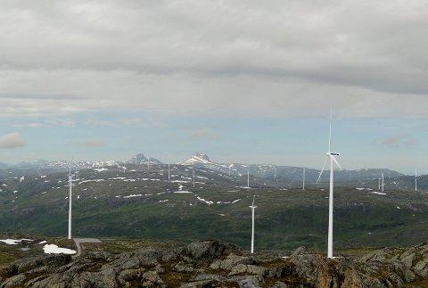 VARDEN: De sørøstligste vindmøllene er tenkt plassert i området ved Stortuva og turmålet Varden.