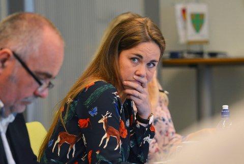 Trine Fagervik ble i helga valgt til ny leder i Nordland Sp.
