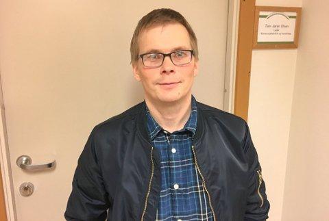- FANTASTISK: - Gutta har gjort en fantastisk innsats igjennom døgnet her, sier Tom Jøran Olsen.