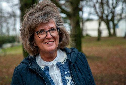 FRIVILLIG: Berit Seland fra Klepp.