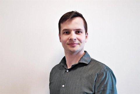 NY SJEF: Jan Gunnar Mattinsdal (34) er nye kommunalsjef for tekniske saker og næring i Hå kommune.