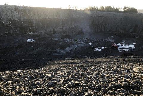 Ingen avvik: DMF har vært på tilsyn på Langøya og fant ingen avvik i utvidelsen av sydbruddet.foto: jarl Rehn-Erichsen