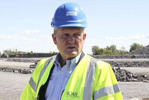 NY PROFIL: Med Anders Lægreid i sjefstolen blir det ny struktur i NOAH. – Strukturendringene var planlagt før jeg tiltrådte som leder, påpeker Lægreid. Foto: Lars Ivar Hordnes