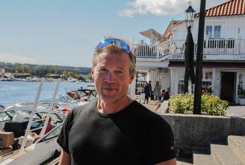Gunnar Berg satte banerekord da han tilbakela ni kilometer på 48 minutter og 49 sekunder under testløpet til neste års kajakkløp.