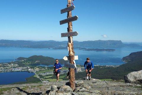 UT PÅ TUR: Søndag er det tid for organisert tur i Husnesfjella igjen. (Arkivfoto: Geir Berntzen).