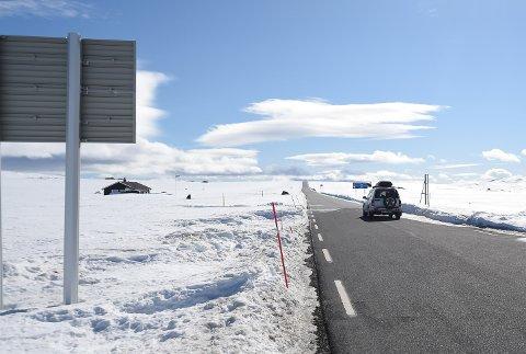 AVSLAG: Miljødirektoratet og Klimadepartementet sier nei til en forsøksordning med vinterbrøyting av Imingfjellvegen mellom Uvdal og Tessungdalen.