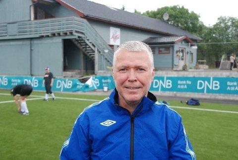 Edd Meby har også en lang idrettskarriere bak seg i lokalfotballen i Vågan, som spiller i FK Lofoten og har også vært leder i Svolvær Idrettslag.