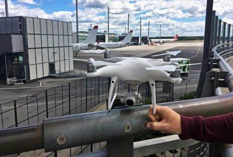 DRONE: Luftfartstilsynet har laget fem hovedregler for bruk av drone.