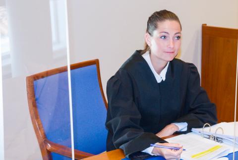 AKTOR: Politiadvokat Kaja Michaelsen førte saken mot flekkefjæringen som nå blant annet er dømt for springskallen i Lyngdal.