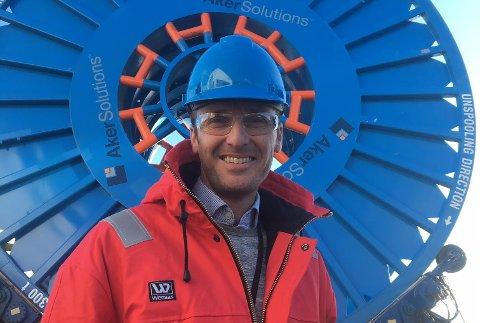 Ny sjef: Vigleik Sexe er blitt ny fabrikksjef ved Aker Solutions i Moss.