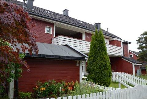 JUNI 2017: En mann ble funnet drept i en leilighet i dette boligområdet på Hellerud. Arkivfoto: Nina Schyberg Olsen