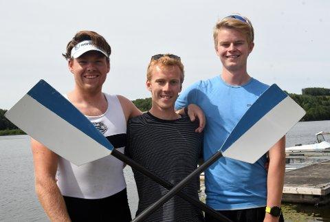 SATSER MOT VM: Nicolay Bjønnes Yngsdal og Audun Grepperud kjemper om en plass i U23-VM, mens Oskar Gjerland håper på å komme med til junior-VM.