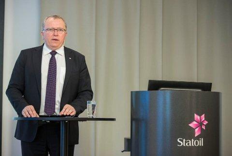 ØKER LØNNEN: Statoil-sjef Eldar Sætre.