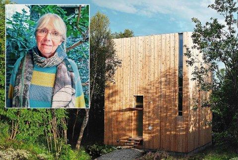 SELGER: Rose Marie Steinsvik selger tomta til arkitektkontoret på Langnes. Prisen er satt til 15 millioner kroner.