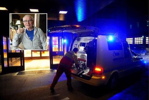 DÅRLIG: - Et nytt Mjøs-sykehus i Innlandet ved Mjøsbrua må komme raskest mulig, for at vi ikke skal risikere å rykke enda lengre bakover i køen. Standarden på eksisterende sykehus er for dårlig, mener Bylauget i Gjøvik.