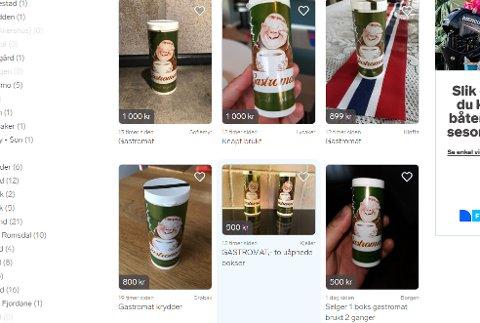 For øyeblikket ligger det over 200 annonser på finn.no. Foto: Skjermdump
