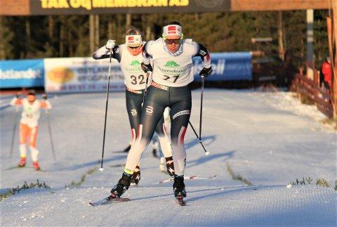 IMPONERTE: Landslagstrener Geir Endre Rogn er full av lovord om det Anniken Gjerde Alnæs gjorde da hun vant sprinten i Skandinavisk Cup på Nes i helga.