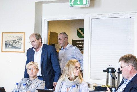 Trodde de var foran: Per Manvik (Frp) var ganske trygg på at forhandlingene med MDG ville ende med borgerlig flertall. Men ordfører Rune Høiseth (Ap) trakk til slutt det lengste strået. arkivfoto: Lasse Nordheim