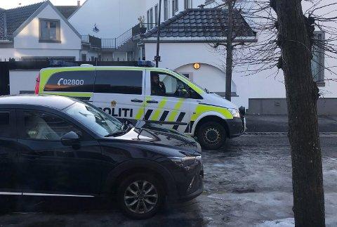 POLITI: Hærverket ble umiddelbart anmeldt til politiet.