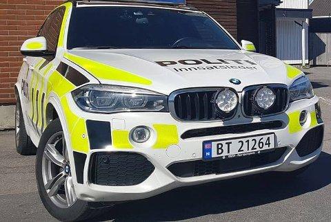 Det ble en hektisk natt for politiet i hele Vestfold. Illustrasjonsfoto: Therese Eskelund