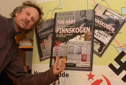 SPENNENDE:  – Drivkraften er alt det spennende og til nå ukjente stoffet som finnes på Finnskogen, sier Tor Håby som nå lanserer bok nummer to i serien.