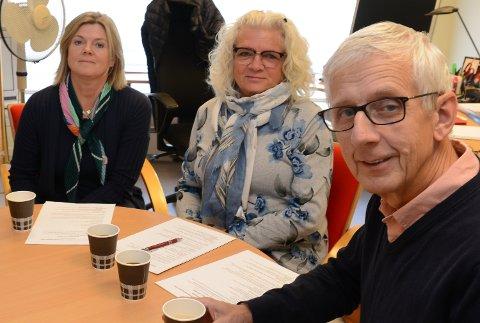 KANSKJE NYVALG:  Ola Cato Lie og Maj-Liss Sæterdalen m¨å kanskje velges på nytt som ordfører og varaordfører.