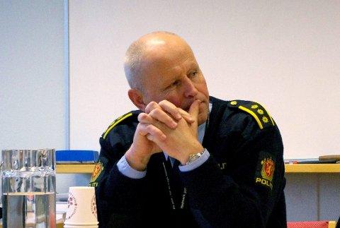 Knut Normann Mælen, etterforskningsleder ved Tynset lensmannskontor.