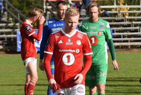 VELDIG SKUFFET: Tynsets målscorer Knut Kleppo Vangen var veldig skuffet etter nok et tap.