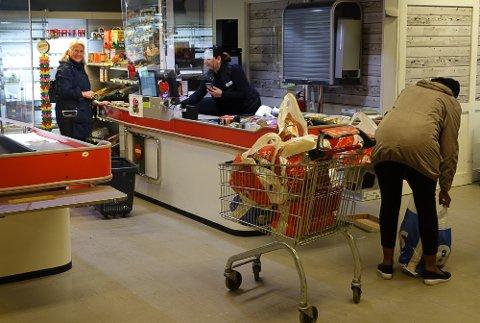 OPPHØRSSALG: Det er nå opphørssalg ved Våler Supermarked.