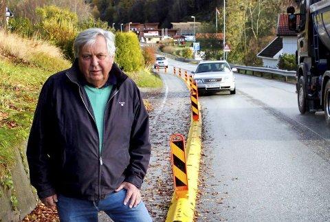 KAMP: Bjørn Tore Larsen er en av flere som har etterlyst sikring.