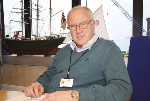 Havnedirektør: Finn Flogstad er havnedirektør i Grenland Havn IKS.