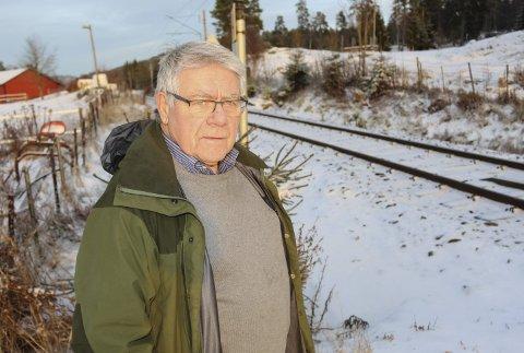 TUTING: Velleder Tore Buer vil ha slutt på togtuting gjennom Bjørkedal.